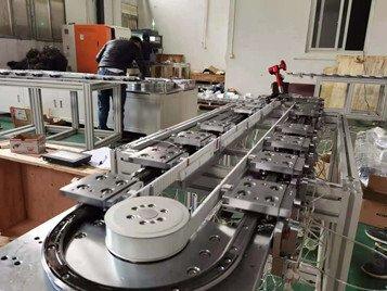 苏州观东型材环形轨道流水线环形导轨厂家
