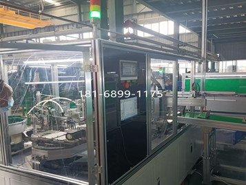 宁波客户汽车遮阳板生产线环形导轨二次定位精度